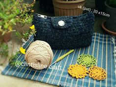 crochet purse #clintislinecraft  🌼🌼