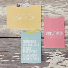 Pretty Free Printables! Focus on the simple things.
