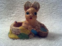 """Vintage """"Susie"""" Pendelfin Figurine, at the Well, Candleholder??  Made in Ireland"""