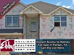 Get an instant list of homes for sale in in Parker, TX 75002 newly built or under construction. Fully searchable and no sign up required.