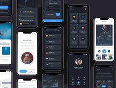 curated digital marketplace with a growing library of high quality UX/UI design resources and freebies for designers. App Ui Design, Mobile App Design, Interface Design, Page Design, Android Studio, Mobile App Ui, Creative Icon, Ui Kit, How To Introduce Yourself