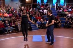 Try the exercises Jennifer Hudson does right at home to stay in shape. Transform your body without hitting the gym.