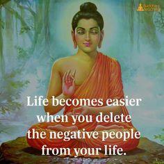 Bye to negativity