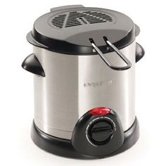 Presto 05470 Stainless Steel Electric Deep Fryer, Silver * This is an Amazon Affiliate link. Want additional info? Click on the image.