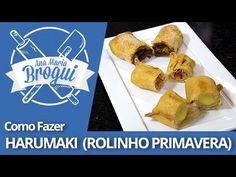 Ana Maria Brogui #263 - Como fazer Harumaki de vários sabores (Rolinho Primavera) - YouTube
