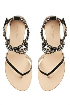 Sandals | Women's leather gladiator styles & more | Witchery Online - Jenny Sandal #witcherywishlist Closet Collection, Dream Shoes, Shoe Closet, Shoe Boots, Women's Shoes, Beautiful Shoes, Me Too Shoes, My Style, Stuff To Buy