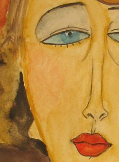Painting: Byzantine icons Atelier D Art, Amedeo Modigliani, Byzantine Icons, Italian Painters, Religious Icons, Photo And Video, Pastels, Drawings, Ideas Para
