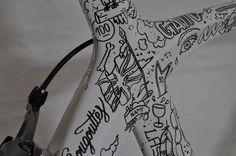 Creative Review - Gattoni's bicycle art