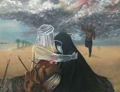 Bibi Sakina, Battle Of Karbala, Imam Hassan, Imam Hussain Wallpapers, Islamic Art, Islamic Quotes, Shia Islam, Muharram, Religious Art