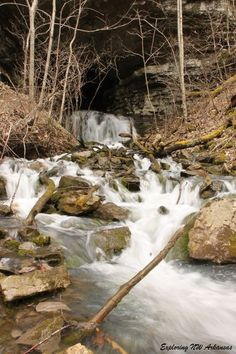 Wolf Creek Falls -- Via ExploringNWArkansas.com