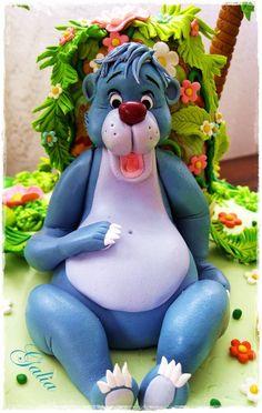 Jungle book - by Galia Hristova @ CakesDecor.com - cake decorating website