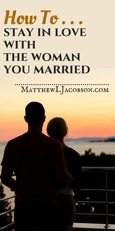 Fresh wisdom for keeping your relationship on the right track. It won't happen by itself. A great marriage got that way, and stays that way, because both spouses focus on how they can love each other better. Here is wisdom for men and their part in marriage.