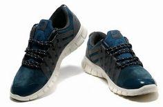 lowest price 97f48 0b8d8 Mens Nike Free Powerlines Suede Grey Darkblue  Grey  Womens  Sneakers Grey  Sneakers,