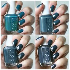 Essie Envy: Essie Mint Comparison : new Mint Candy Apple, old Mint Candy Apple, Blossom Dandy, Fashion Playground