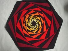 LOG CABIN WITH A TWIST-Lights Out Quilt
