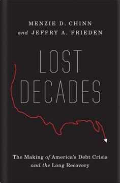Clever book cover. Lost Decades via The Book Cover Archive