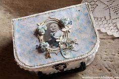 wenches skribleri: Minne-koffert til baby