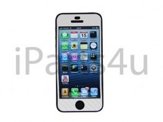 Carbon Skin iPhone 5 Wit