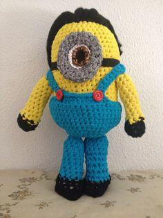 Mininos hecho con trapillos a crochet
