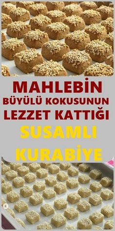 If you are wondering how to make a sesame-flavored cookies recipe, all … - Kekse Cookie Base Recipe, Cookie Recipes, Köstliche Desserts, Delicious Desserts, Most Delicious Recipe, Turkish Recipes, Snacks, Chocolate Recipes, Cupcake Cakes