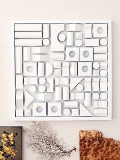 Our Favorite DIY Wall Art -- Building Block Collage