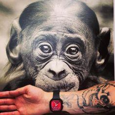 Monkey Play!  Made with love at wwwFphresh.com  #watches #design #socialbrand #Freshwatch #fresh #Animals #Fashion