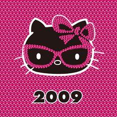 Hello kitty through the years 2009