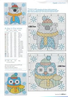 A day in the snow, charts, page 3/3Af