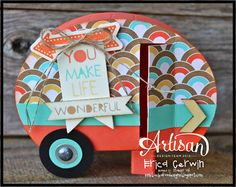 Artisan Wednesday Wow- Retro Camper