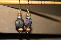 Druzy earrings, Boho Earrings, Bohemian Jewelry, Mothers Day Gift, Free Shipping by ChloeStoneDesigns on Etsy