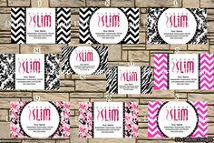 Plexus Slim Business Card  Digital File by DsCustomDesign on Etsy, $7.00