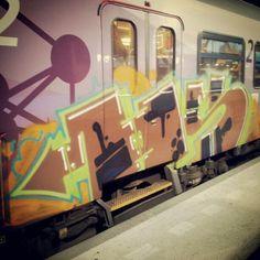 Fresh on the train in Rotterdam (NL) ptI