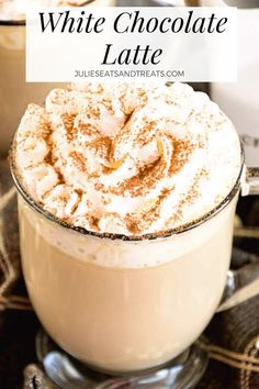coffee recipes White Chocolate Latte Recipe ~ Delicious, Easy, Homemade White Chocolate Latte Recipe that Will Have You Sipping Lattes Whenever You Want! via julieseats Keurig Recipes, Nespresso Recipes, Coffee Drink Recipes, Starbucks Recipes, Tea Recipes, Coffee Drinks, Ninja Coffee Bar Recipes, Starbucks Pumpkin, Iced Coffee Latte Recipe
