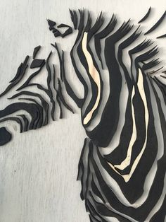 Een persoonlijke favoriet uit mijn Etsy shop https://www.etsy.com/nl/listing/539056330/lasercut-black-and-white-painted-zebra