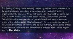 Words of Wisdom from Alan Watts. <3