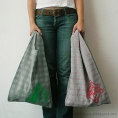 Ohoh Blog: Bags for chocolate and tortillas