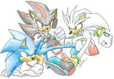Shadow vs Silver | Sonic vs Shadow vs Silver by N0B0D1 on deviantART