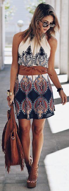 Dress: ZNU (NEW) Cinturon // Belt MANGO (old) Bolso // Bag LEFTIES  // Sandals MARYPAZ