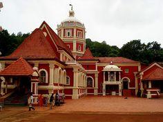 #Shri #Shantadurga #Temple, Goa