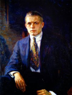 J oseph Kleitsch ( 1882-1931 ) was a Hungarian- American  portrait and Plein Air  painter who holds a high place in the early Califo...