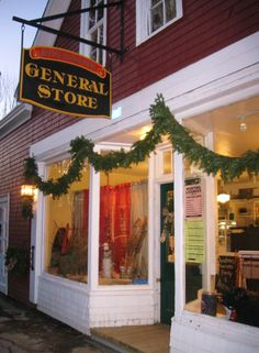 Wonderful little general store in Mill Village Nova Scotia.