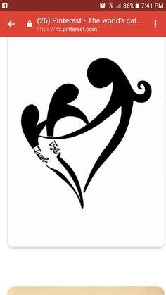 mother and two children tattoo - Búsqueda de Google