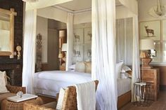 Mosquito Net Inspiration - Out of Africa décor