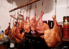 Romanian Food, Food And Drink, Home, Meat Smokers, Food, Canning, Hams