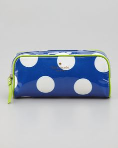 http://dezineonline.com/kate-spade-new-york-le-pavillion-polka-dot-henrietta-cosmetic-small-case-blue-cream-p-3282.html