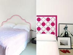 estas cabeceiras em adesivo prometem revolucionar o decor do seu quarto em um minuto