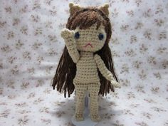 Kaitlyn is a sweet little cat-eared Pocket Spirit, commissioned as a Christmas gift.  She was a lot of fun to make :-)    Patterns for the d...