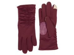 """""""Echo's Touch Superfit ruched gloves."""""""