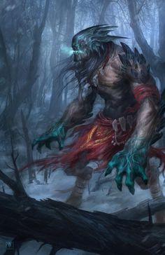 monster by MikaelWang.deviantart.com on @DeviantArt