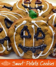 Use leftover sweet potatoes to create this delicious sweet potato raisin cookie recipe!